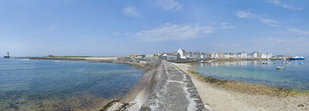Ile De Sein In Brittany France Stock Images.