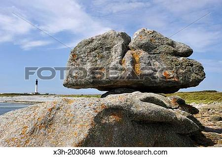 Pictures of remarkable rocks on Ile de Sein, off the coast of.