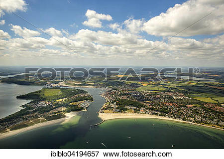 Picture of Bay of Lubeck, Travemunde, Dassow, Mecklenburg.
