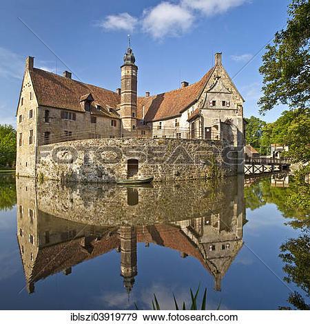"""Stock Photograph of """"Vischering Castle, Ludinghausen."""