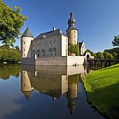 """Stock Photo of """"Burg Vischering Castle, Ludinghausen, Munsterland."""