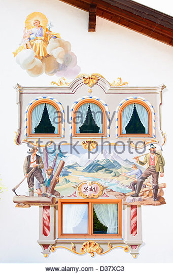 Lüftlmalerei Stock Photos & Lüftlmalerei Stock Images.