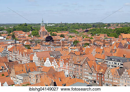 Picture of View from the Water Tower, St. Michaelis, Am Sande.