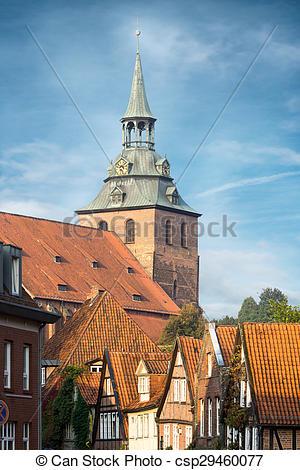Picture of das historische Zentrum von Lüneburg, Deutschland.