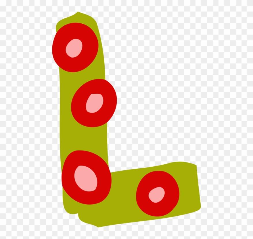 Alphabet Letter Case Art L Cut.