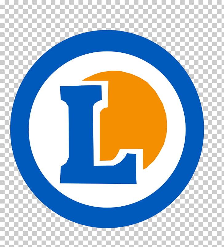 E. Leclerc Letter Logo, white, blue, and brown L logo PNG.