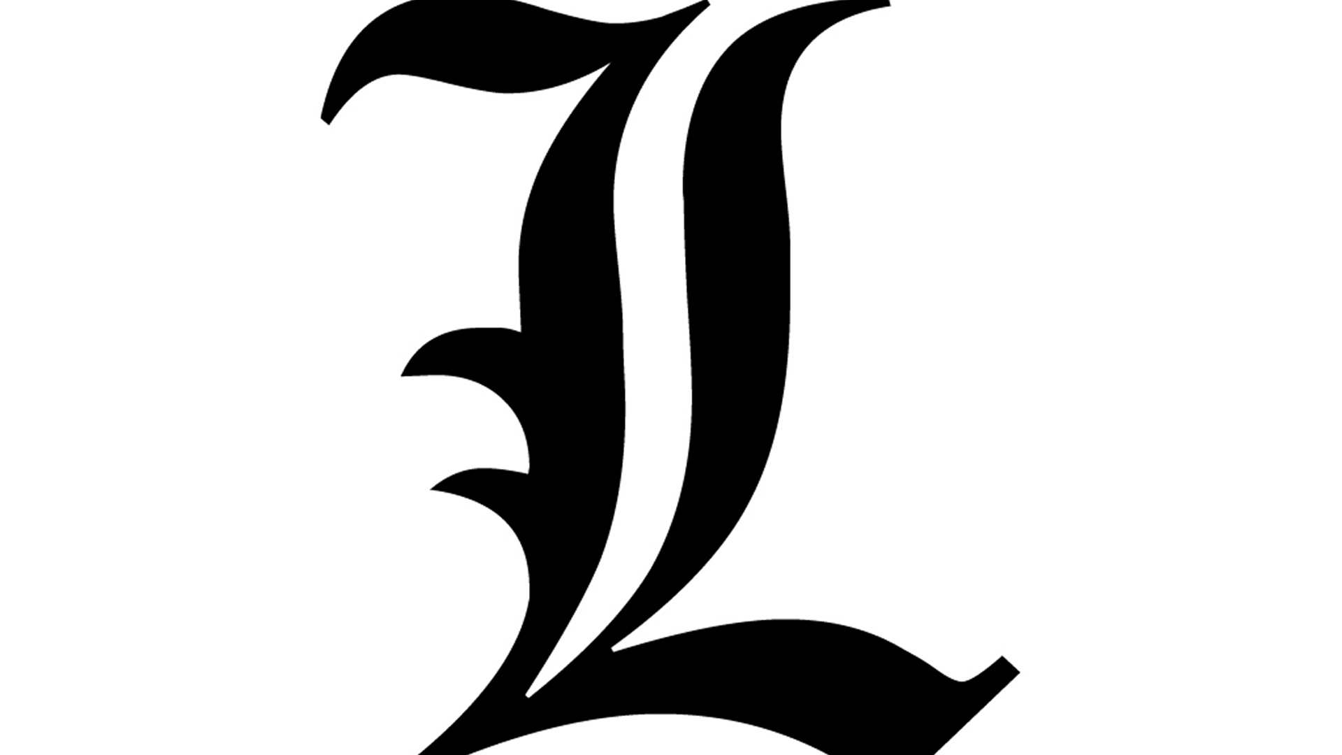 L death note Logos.