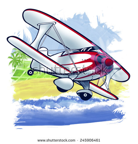 Passenger Aircraft Stock Illustration 245906440.