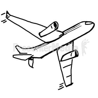 airplane flying the skies.