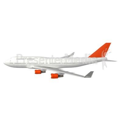 Stick Figure In Plane.