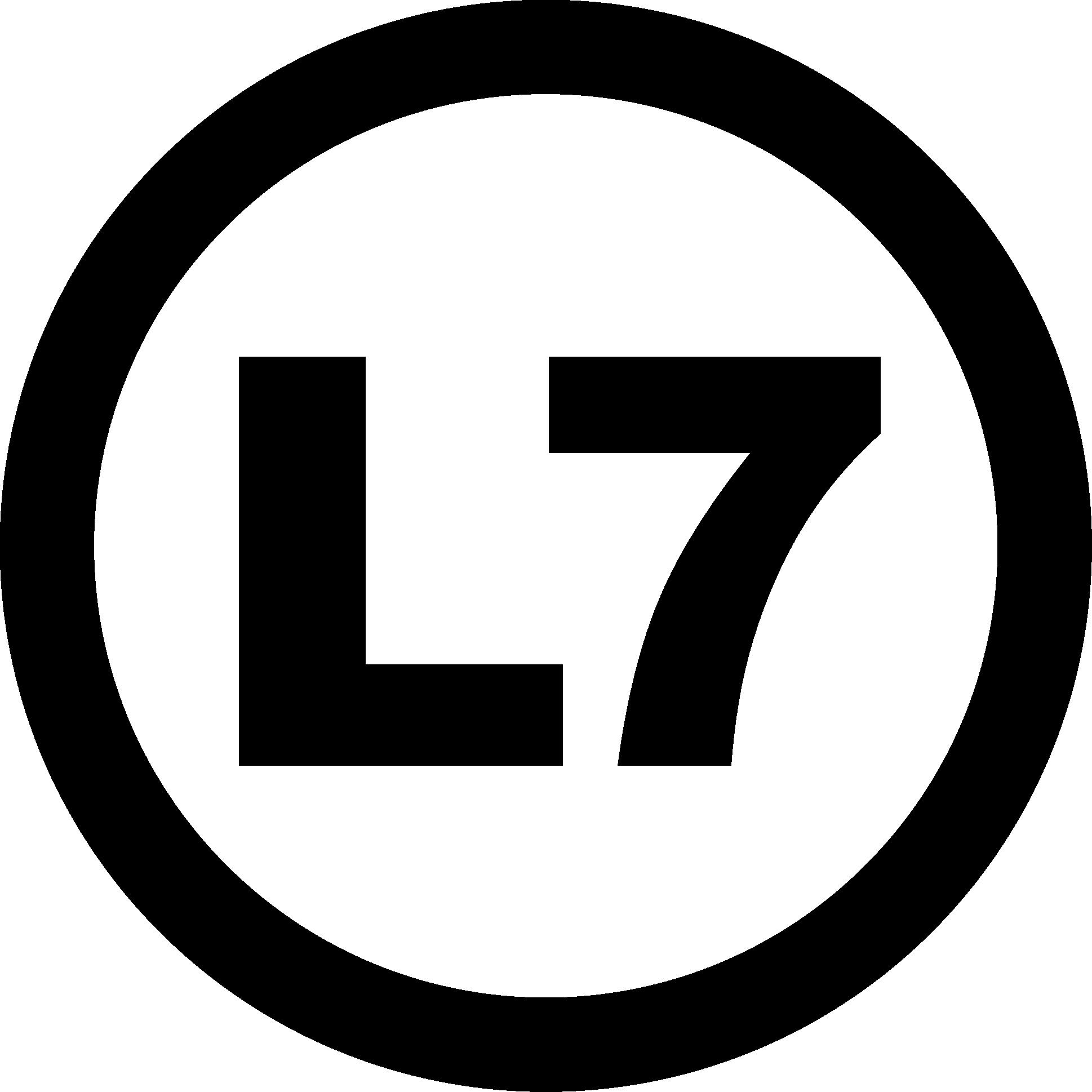 L7 logo png 3 » PNG Image.