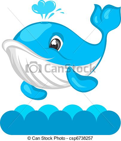 Vectors Illustration of Whale.