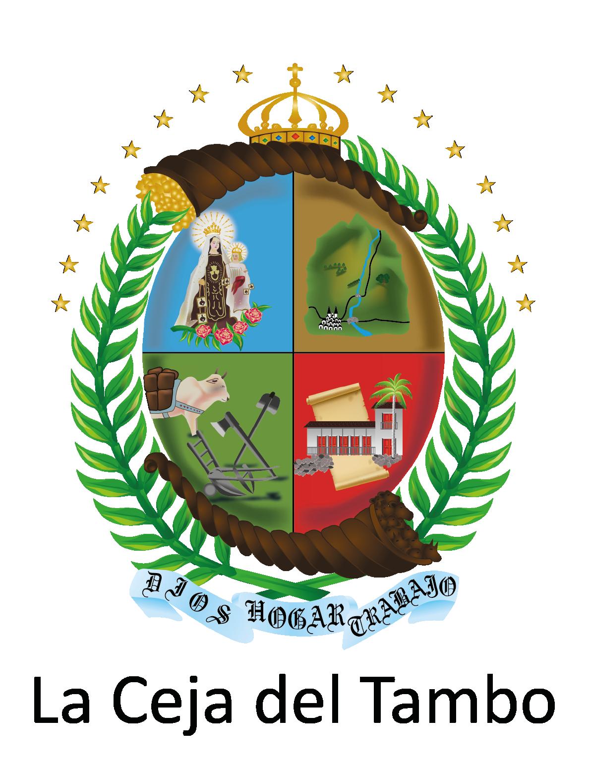 File:Escudo del municipio de La Ceja del Tambo.png.