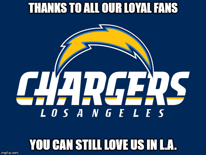 los angeles chargers Memes & GIFs.