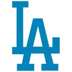 Dodgers clip art.