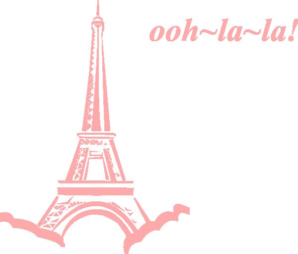 Ooh La La Paris Clipart.
