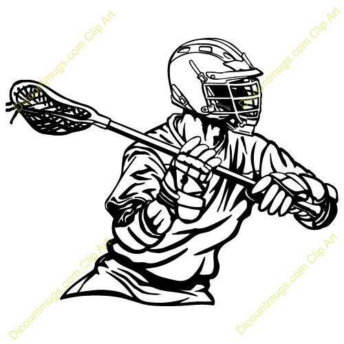 Lacrosse Stick Clipart.