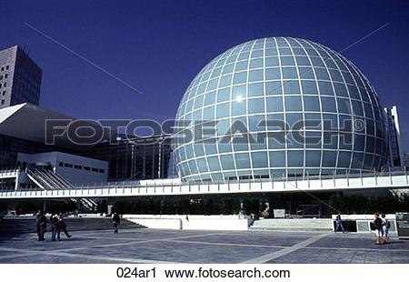 Stock Photography of La Defense Dome Paris France 024ar1.