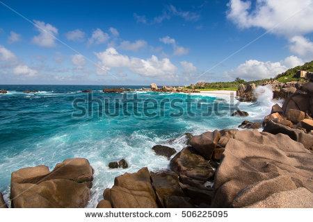 Beach Digue La Seychelles Stock Photos, Royalty.