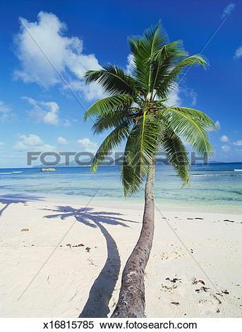Stock Image of Anse Source D'Argent, La Digue, Seychelles, Africa.