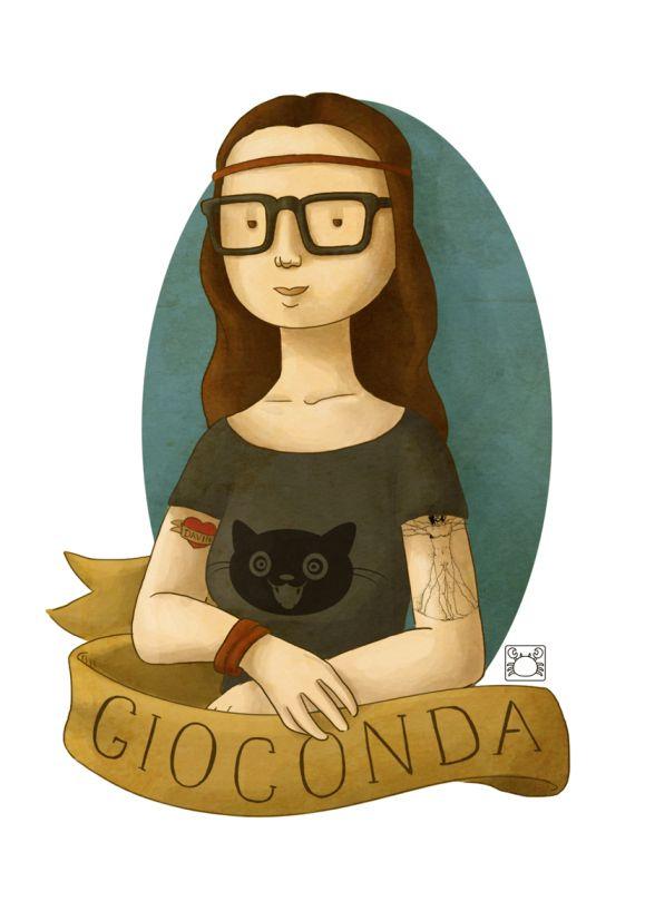 1000+ images about Monalisa, la Gioconda el paso del tiempo on.
