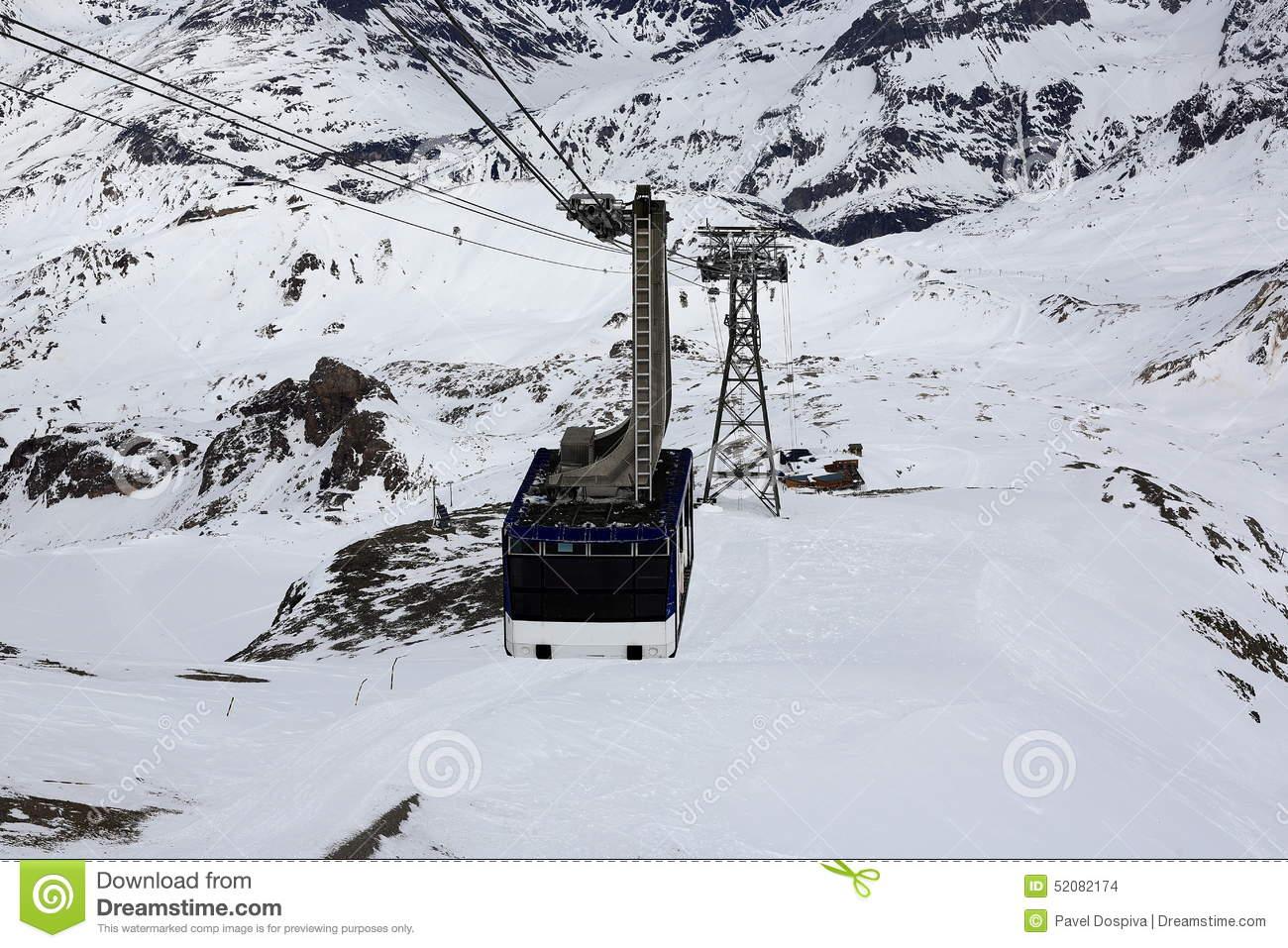 La Grande Motte, Winter Ski Resort Of Tignes.