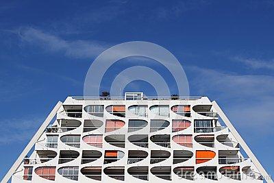 Pyramidal Building In La Grande Motte Editorial Stock Photo.
