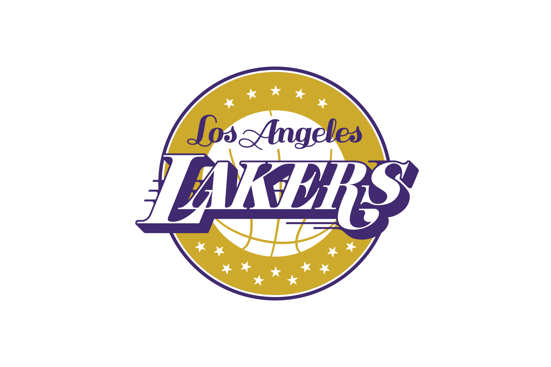 Michael Weinstein NBA Logo Redesigns: Los Angeles Lakers.
