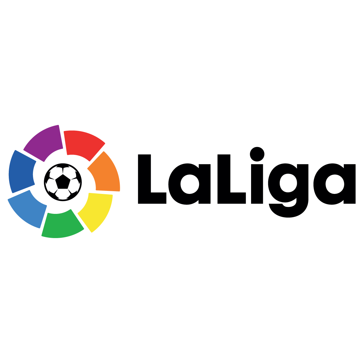 LaLiga Horizontal Logo Vector Transparent.