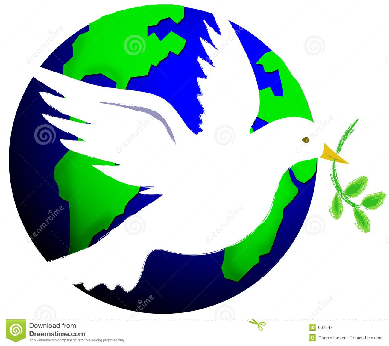 Dove Peace On Earth Clipart.