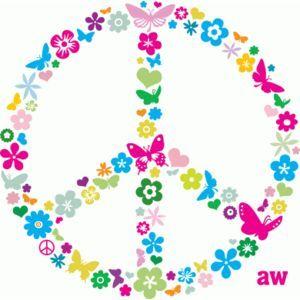 simbolo de la paz.