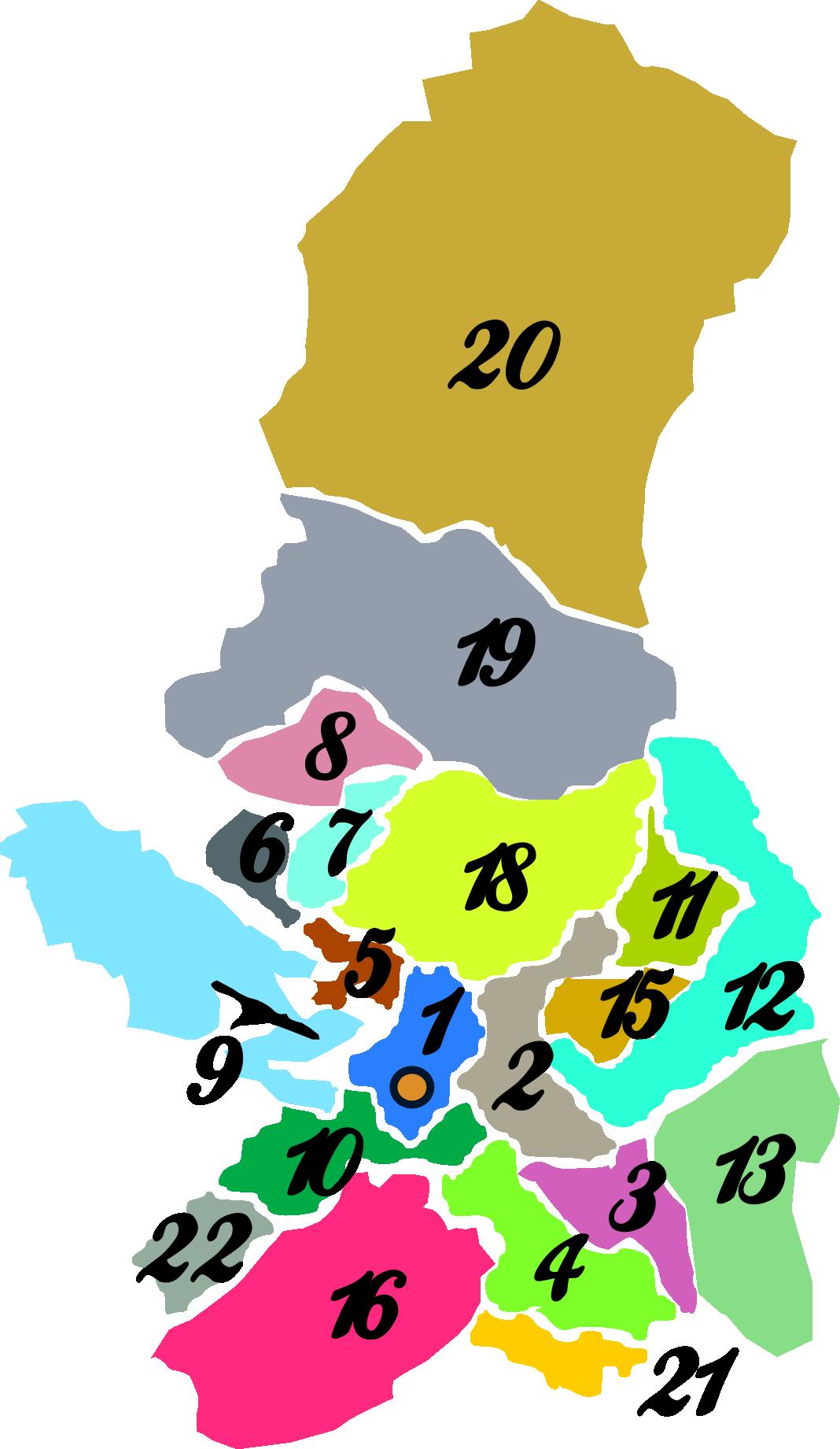 Anexo:Provincias del Departamento de La Paz por superficie.