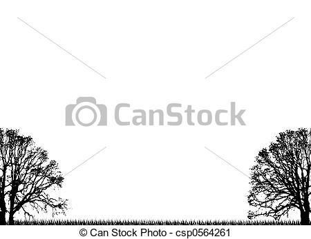 Clipart di pianura, albero.