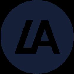LATOKEN (LA) price, marketcap, chart, and fundamentals info.