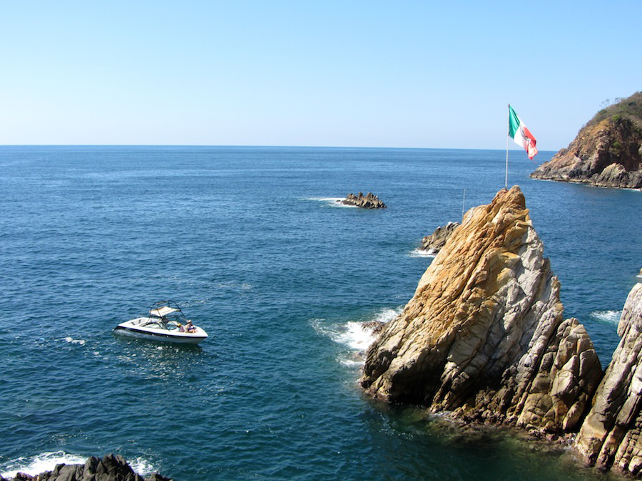 La Quebrada Cliff Divers of Acapulco.