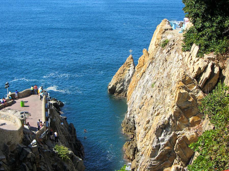 La Quebrada Cliff Divers of Acapulco.