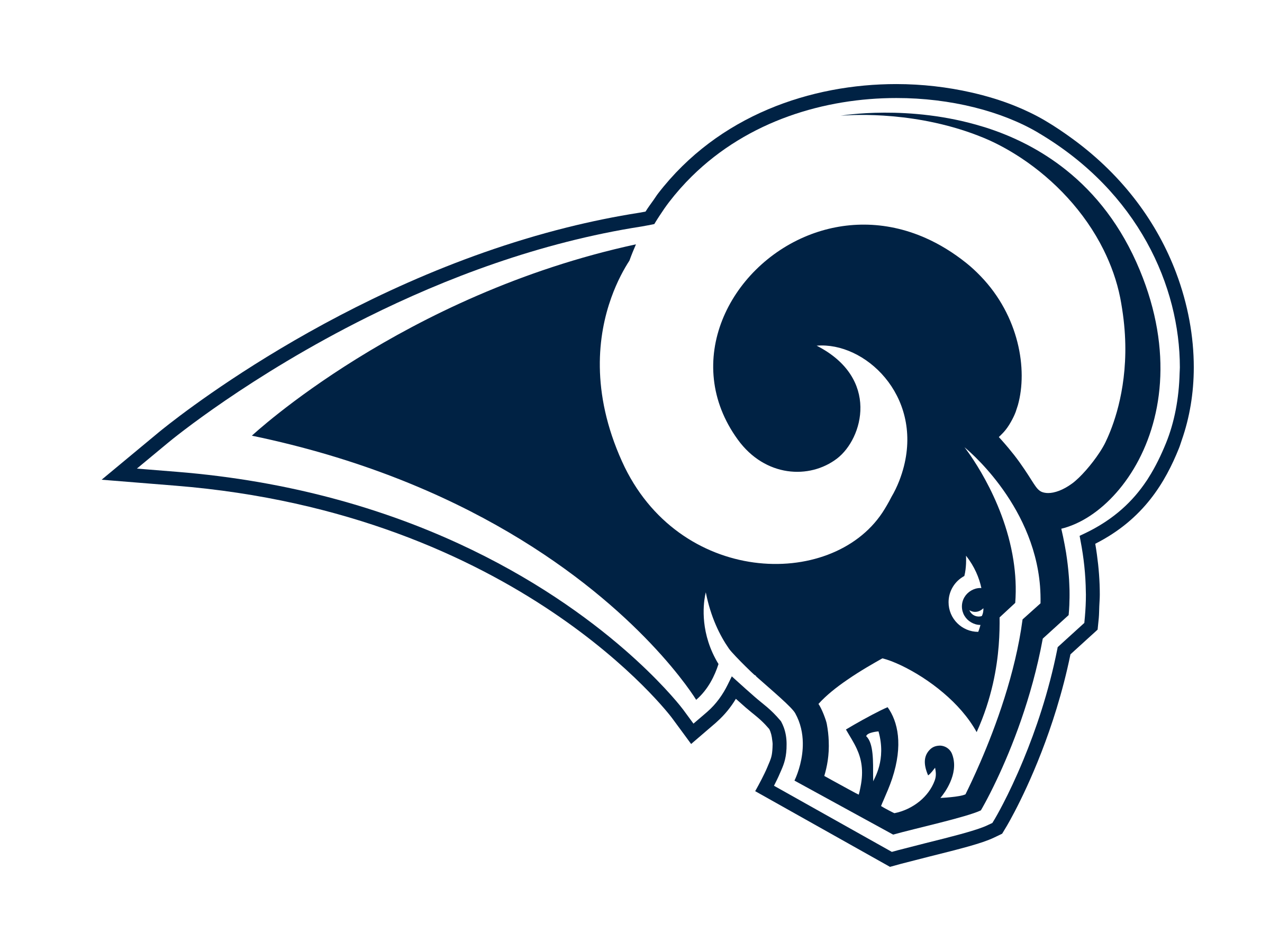 Los Angeles Rams Logo PNG Transparent & SVG Vector.