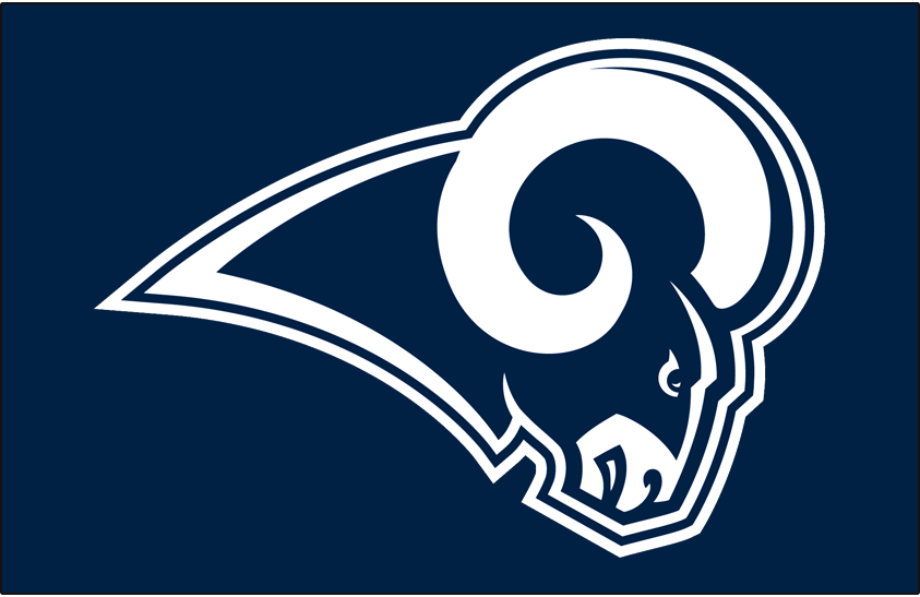Los Angeles Rams Primary Dark Logo.