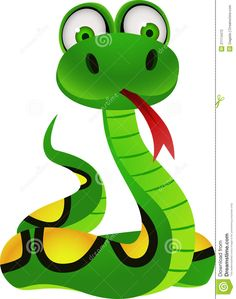 Cute snake symbol of 2013 year stock vector.