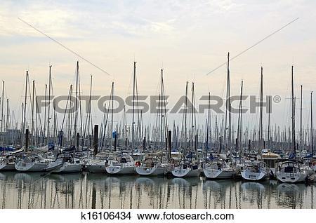 Drawings of The port of Minimes, La Rochelle k16106434.
