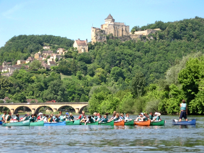 Canoë Dordogne.
