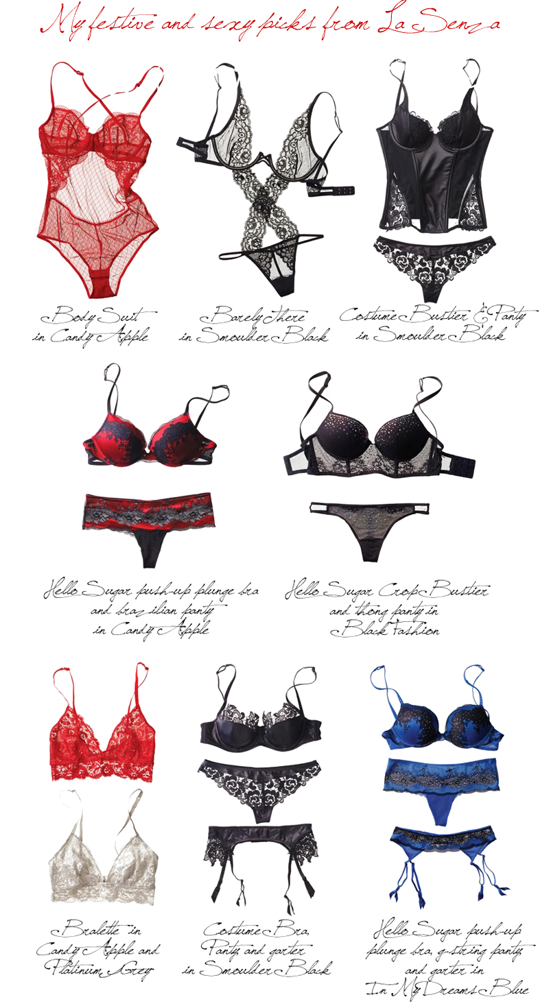 La Senza: Hello Sugar featuring The Diva Collection.