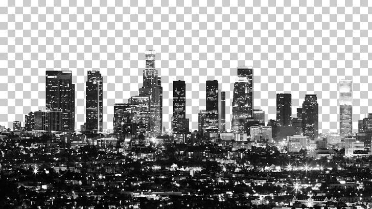 Downtown Los Angeles Skyline Stock Photography PNG, Clipart.