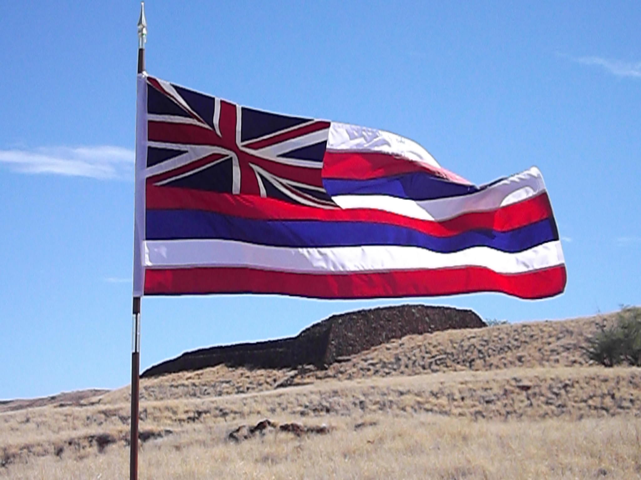 Hawaii to celebrate its Flag Day.