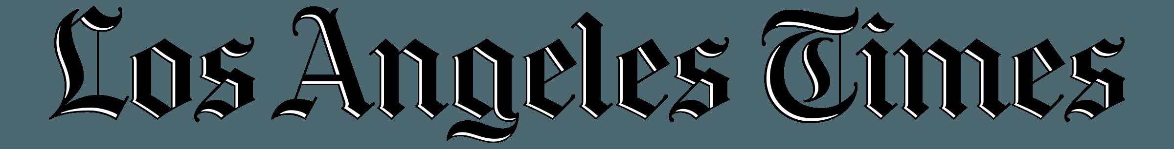 LA Times Logo PNG Transparent & SVG Vector.