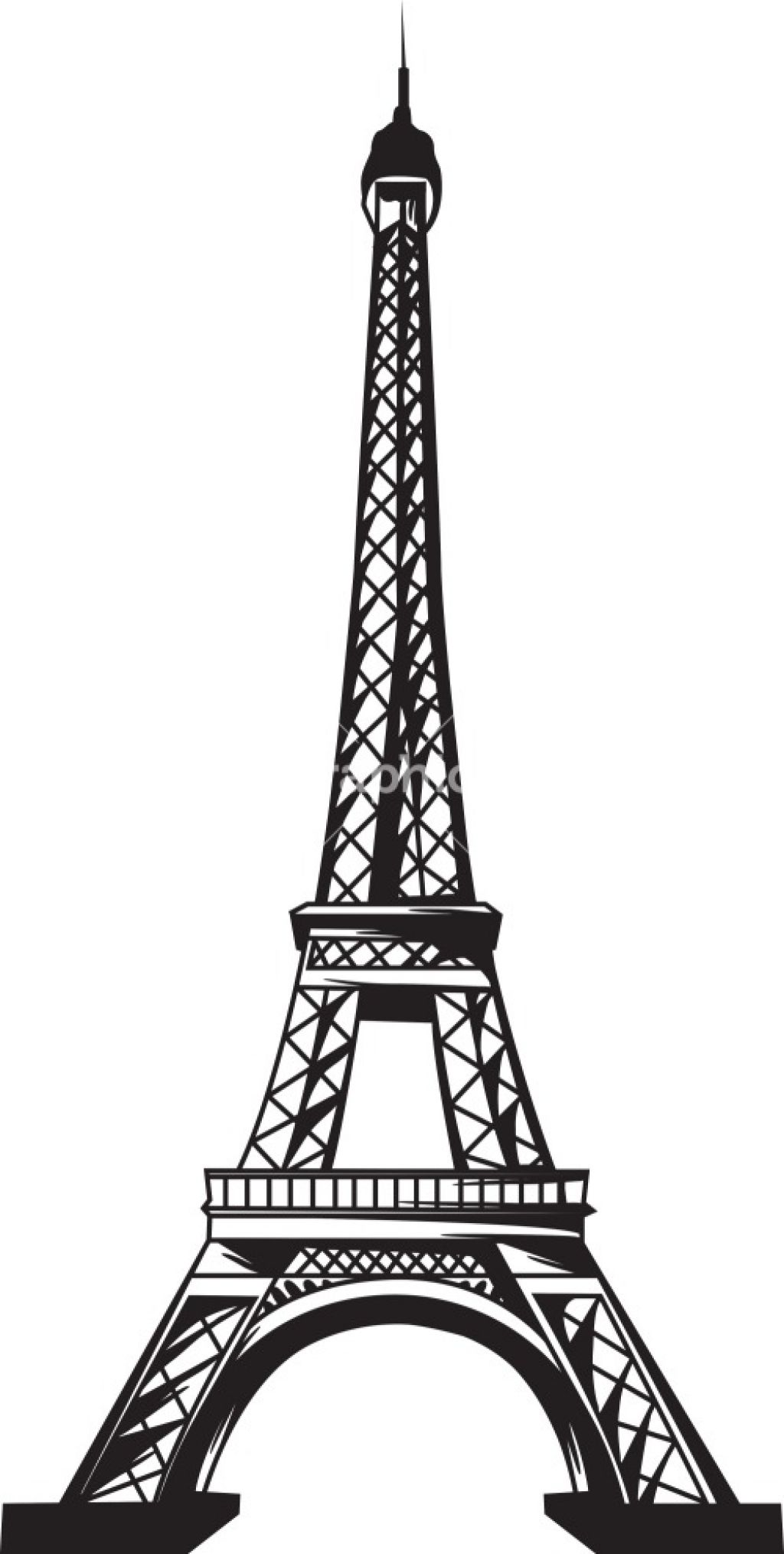 La Tour Eiffel Eiffel Tower Clip Art At Vector Clip Image.