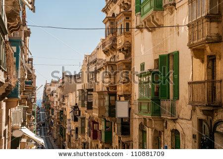 La Valletta Stock Photos, Royalty.