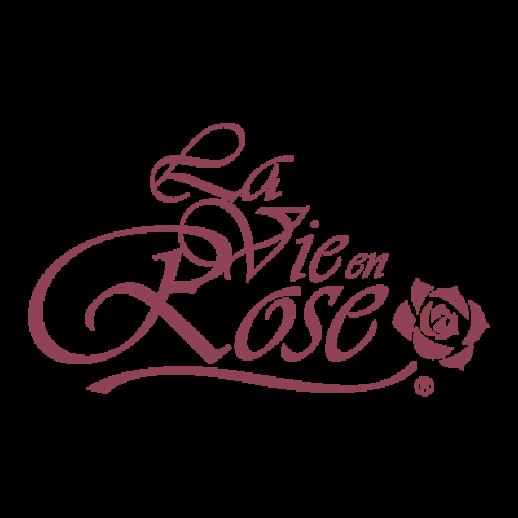 La vie en Rose logo Vector.