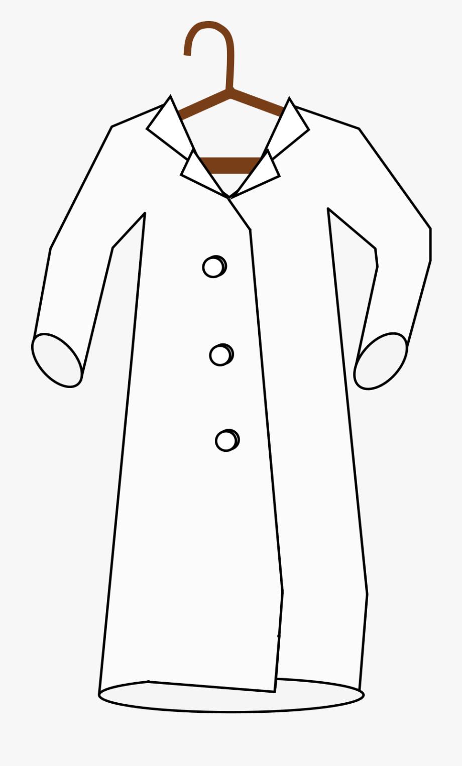 Lab Coat Clipart Png , Transparent Cartoon, Free Cliparts.