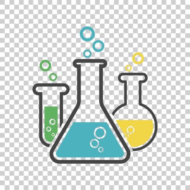 Best Laboratory Glassware Illustrations, Royalty.